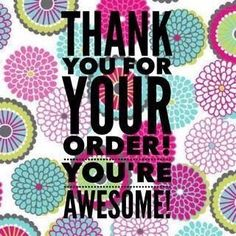 Thank you for your Avon order! Shop with me today at www.youravon.com/rmahurin