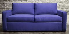 Happy Saturday!! Today's #sofaoftheday is this beautiful #nontoxic modSquare sleeper sofa; what an amazing color!