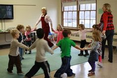 This website has a lot of great little jingles and songs for kids to sing as a class. All these jingles have something to do with movement and moving their body.