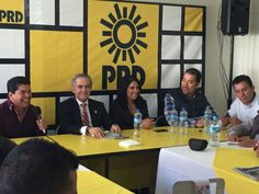 PRD Durango recibe y respalda a Miguel Angel Mancera