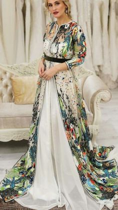 Arab Fashion, Muslim Fashion, Modest Fashion, Fashion Dresses, Morrocan Dress, Moroccan Caftan, Arabic Dress, Caftan Dress, Hijab Dress