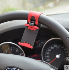 Universal Car Steering Wheel Phone Socket Holder Navigate Case Cover For iPhone SE 4 5S 6S Plus For Toyota Camry Corolla RAV4