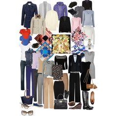 """My 50 Limit Winter Wardrobe"" by karendbibby on Polyvore"