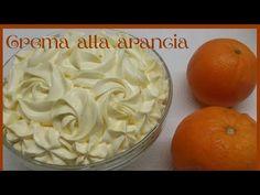 VELLUTATA CREMA all'ARANCIA per TORTE🍊🍊🍊CREMA cu GUST de PORTOCALE 🍊🍊Orange cream🍊Апельсиновый крем - YouTube Super Rapido, Mousse, Orange, Creme, Frosting, Breakfast, Desserts, Biscotti, Food
