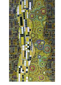 ... , Couple autumn mosaic inspired by Klimt, Page 4481, Contemporary Art