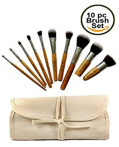 Eco Bamboo Kabuki Makeup Brush Set - 10 Pce - Cruelty-Fre... https://smile.amazon.com/dp/B016J9EQNW/ref=cm_sw_r_pi_dp_x_8lt8xbQGY3NYT