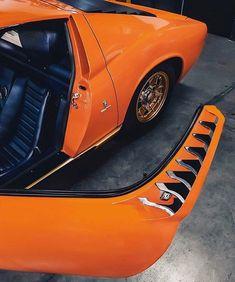 Car&Vintage®: • Orange country. Lamborghini Miura • laclassica.carandvintage.it By @carphiles #CarVintage #orangecounty ...