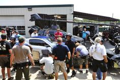 "2015 ""Need for Speed""  movie set Mustang stunts"
