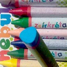 Nebuló színes háromszög alakú zsírkréta készlet 12 darabos Ft Ár 189