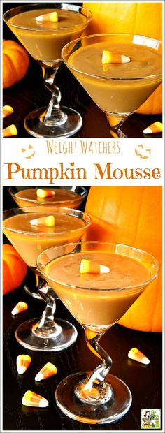 Looking for a low calorie pumpkin dessert recipe? Try easy to make Weight Watchers Pumpkin Mousse. It's the perfect low calorie dessert recipe for fall parties, Halloween and Thanksgiving. Naturally gluten free, this pumpkin mousse recipe come with tips for making this pumpkin recipe dairy free.