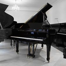 Steinway & Sons Model O Grand Piano - Polished black