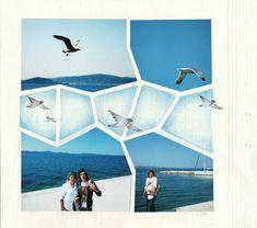 Vitrail - Zadar et oiseaux newsletter Stained Glass Album Photo Scrap, 4 Photos, Key West, Jamaica, Scrapbook Pages, Digital Scrapbooking, Stained Glass, Beach, Projects