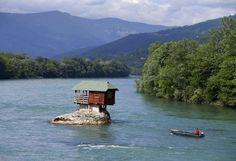 Rio Drina, Belgrado, Sérvia.