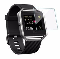 0.33mm 9H 2.5D Premium Tempered Glass Screen Protector for Fitbit Blaze Smart Watch Anti-Explosion Protective Guard Film