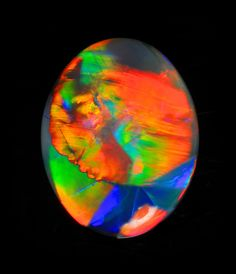 images of opal stones | Black Opal, 6.540 cts.