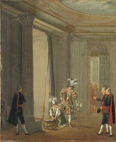 Gustav III, 1746-92, konung av Sverige som Meleager