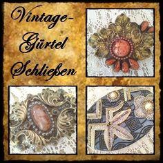 Weiteres - *Vintage Schließen*  Handmade  131-76+77+78 - ein Designerstück von raritaeten-kammerl bei DaWanda