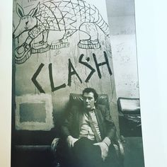 Jake Riviera backstage at Eddie Wilson's Armadillo World Headquarters Austin 1978 by Tom Wright. The Clash had played there two weeks before. Who put the creepers on the armadillo? #jakeriviera #armadilloworldheadquarters #elviscostelloandtheattractions #theclash #1978 #eddiewilson by paul_g0rm4n
