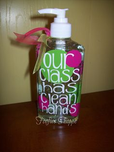 Personalized Hand Sanitizer/Soap,