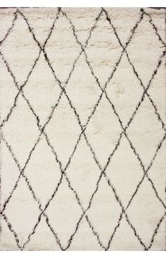 Rugs USA Tuscan Moroccan Shag Ivory Rug, area rugs, style, home decor, pattern, trend, home decor, house, home, interiors, pretty, inspire, chic, discount.