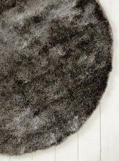 Silver, Glisten shaggy rug collection