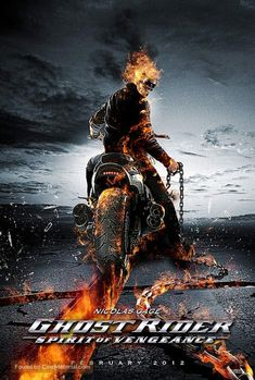 movie poster image for Ghost Rider: Spirit of Vengeance The image measures 467 * 692 pixels and is 103 kilobytes large. Ghost Rider 2007, Ghost Rider 2 Movie, Ghost Rider Marvel, Marvel Dc, Marvel Heroes, Captain Marvel, Fan Art, Gost Rider, Ghost Rider Wallpaper