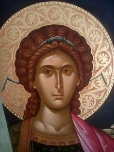Archangel Gabriel, Archangel Michael, Orthodox Christianity, Orthodox Icons, Cyprus, Ornament, Face, Fictional Characters, Byzantine Icons