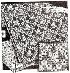 Filet Crochet Butterfly Square Alice Brooks Vintage Mail Order Pattern for Bedspreads Tablecloths Pillows Scarfs - Kindle edition by Charlie Cat Patterns. Crafts, Hobbies & Home Kindle eBooks @ Amazon.com.