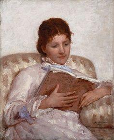"""""""La lectora"""" (1877). Mary Stevenson Cassatt. Cassatt (pronunciado ca-SAHT) creó a menudo imágenes de las vidas sociales y privadas de mujeres, con énfasis particular en los enlaces íntimos entre las madres y los niños."""