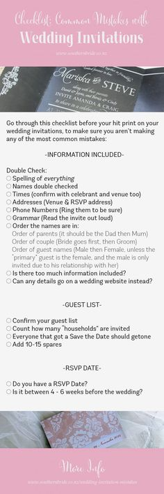 How to tell guests you are having an adults only wedding Wedding - wedding guest list