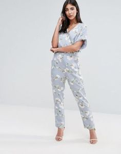 Uttam Boutique Jumpsuit In Floral Print