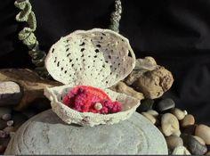 Patrones Crochet: Como hacer una Ostra-Caja de Crochet