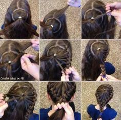 braided hair style braided #hairstyles