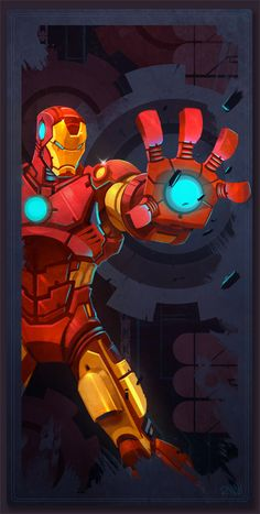 Avengers Card Iron Man by *frogbillgo on deviantART