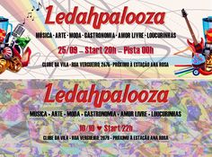 Ledahpalooza - capas de evento para Facebook