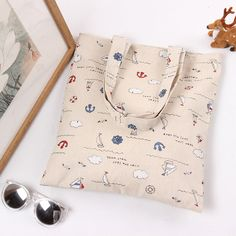 Environmental Protection Storage bag 100% Cotton Bag Printed Gifts Simple Fashion Canvas Shopping Bag Shoulder Bag