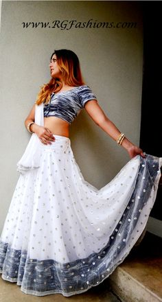 Exclusive Collection-Winter stars   Gopi Skirt Outfits