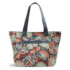 98f87ab51014 Vera Bradley Trimmed Reversible Tote in Nomadic Floral Vera Bradley Tote  Bags