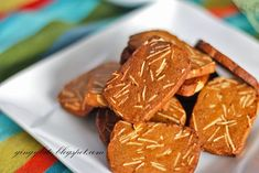 Coffee Almond Cookies 咖啡杏仁饼