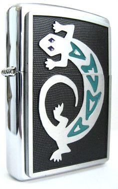 Lizard Zippo Lighter | Flickr - Photo Sharing!