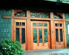 Front Door (Gamble House by Greene and Greene, Pasadena, CA, 1908)