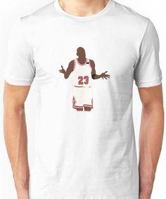 d7a91ae099d0f4 Michael Jordan Shrug Design Unisex T-Shirt Michael Jordan