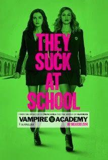 Vampire Academy, the Movie  http://books-anovelidea.blogspot.com/2014/02/vampire-academy-movie.html