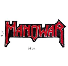 Now Available in store today MANOWAR Cut Out I... at a very low price here http://apatchestore.com/products/manowar-cut-out-iron-on-sew-on-embroidered-patch-6-4-16cm?utm_campaign=social_autopilot&utm_source=pin&utm_medium=pin @ apatchestore.com