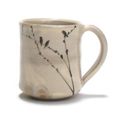 birds \ ceramic art \ mug