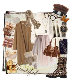 Designer Clothes, Shoes & Bags for Women Ann Demeulemeester, Life Is Beautiful, Maybelline, Versace, Kate Spade, Polyvore, Collection, Shopping, Black