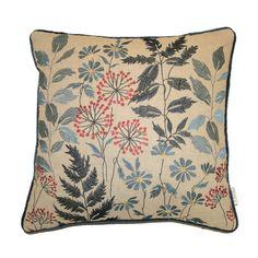 Chess Home Botanical Linen Scatter Cushion & Reviews | Wayfair UK