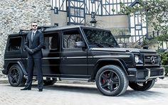 INKAS Armored Mercedes G63 AMG Limousine - Men's Gear