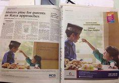 CUIDADO CON LOS BANCOS DE IMÁGENES. Dos anuncios diferentes, uno al lado del otro, que utilizan la misma imagen