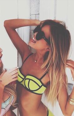 own matching bikinis with my bff Go Best Friend, Best Friend Goals, Best Friends Forever, Besties, Bestfriends, Best Friend Pictures, Friend Photos, Bikinis, Swimsuits